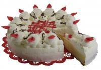 Speciální dorty - žloutkovo-šlehačkový dort (200 - 300 Kč)