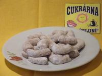 cukroví v kg - vanilkové rohlíčky