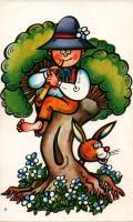 perník s obrázkem - velikonoční